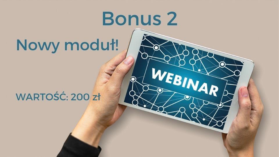 Bonus 2 - webinar